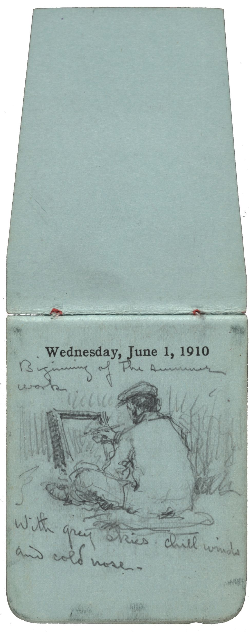 (F. Luis Mora's 242 monthly pocket diaries, 1899-1922. F. Luis Mora papers, 1895-1969. Archives of American Art, Smithsonian