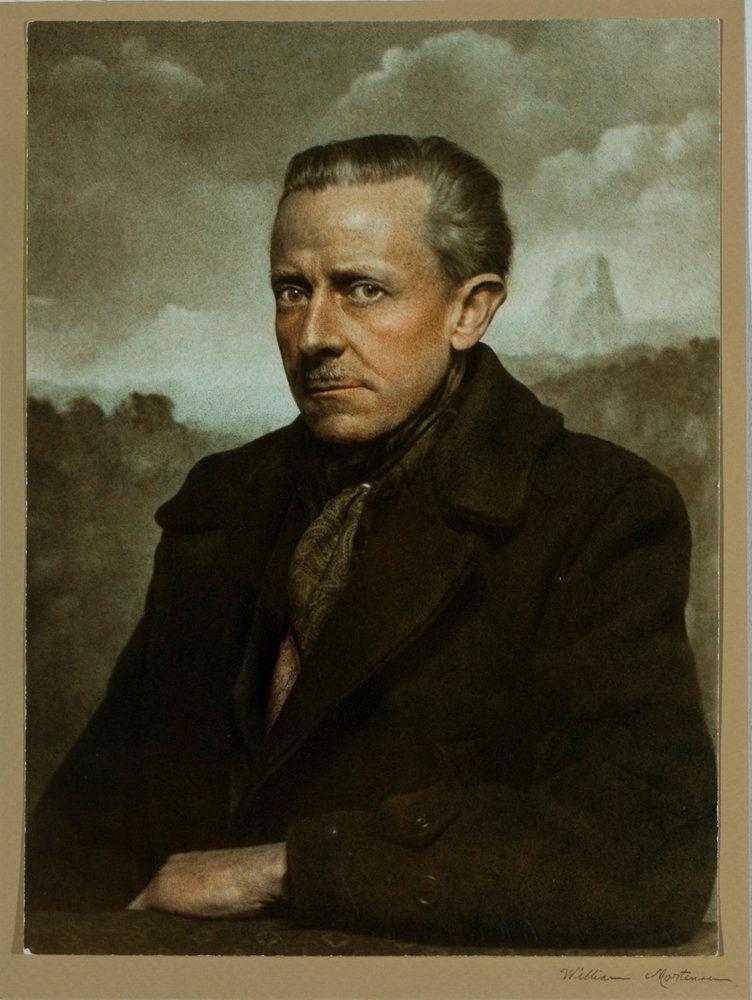 Mortensen color Self Portrait