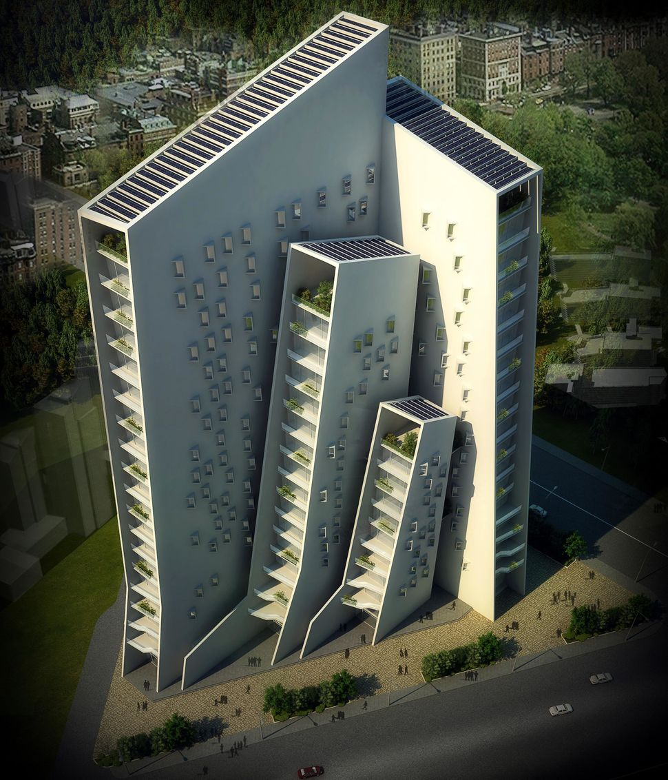 <strong>Agashiyan by Sanjay Puri Architects.</strong> This will be the highest building in a predominately low-rise neighborh