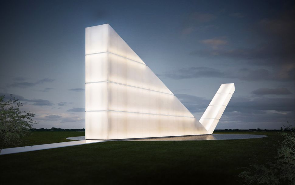 "<strong>Freedom of The Press Monument by Gustavo Penna Arquiteto & Associates.</strong> ""The Freedom of the Press Monument is"