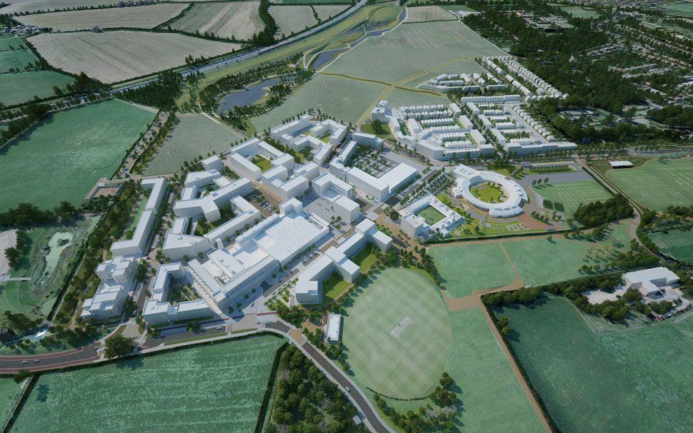 <strong>Northwest Cambridge Masterplan - AECOM.</strong> The next generation of the Northwest Cambridge University community