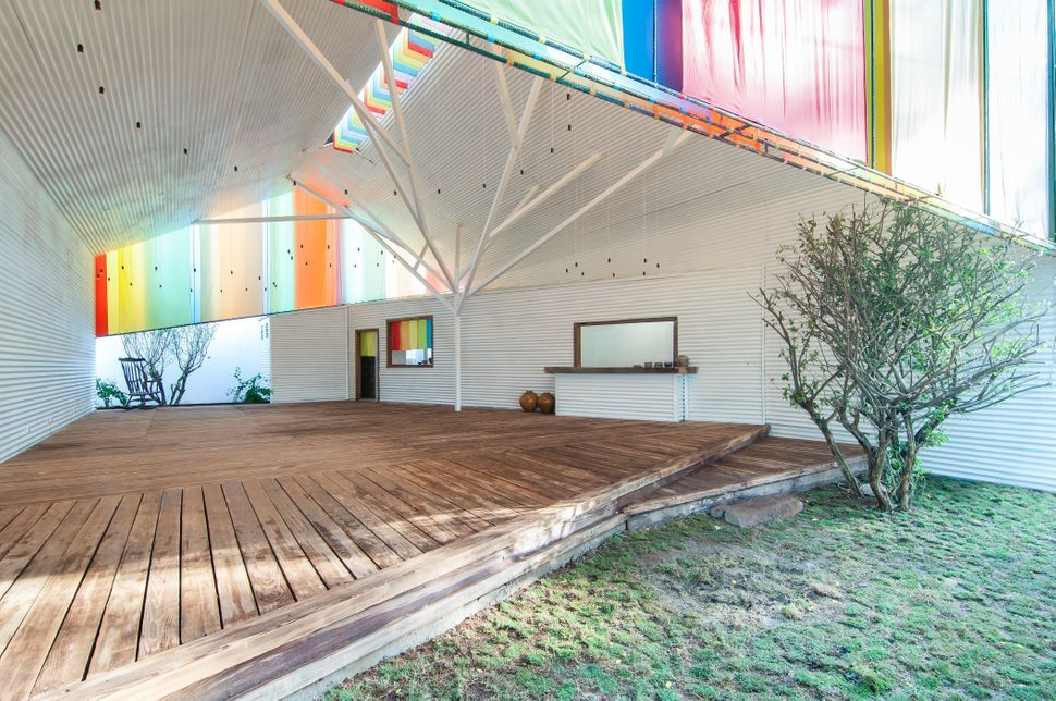 The Chapel by a21studio. This rainbow creation is a new community space located in an emerging urban ward on the outskirts of