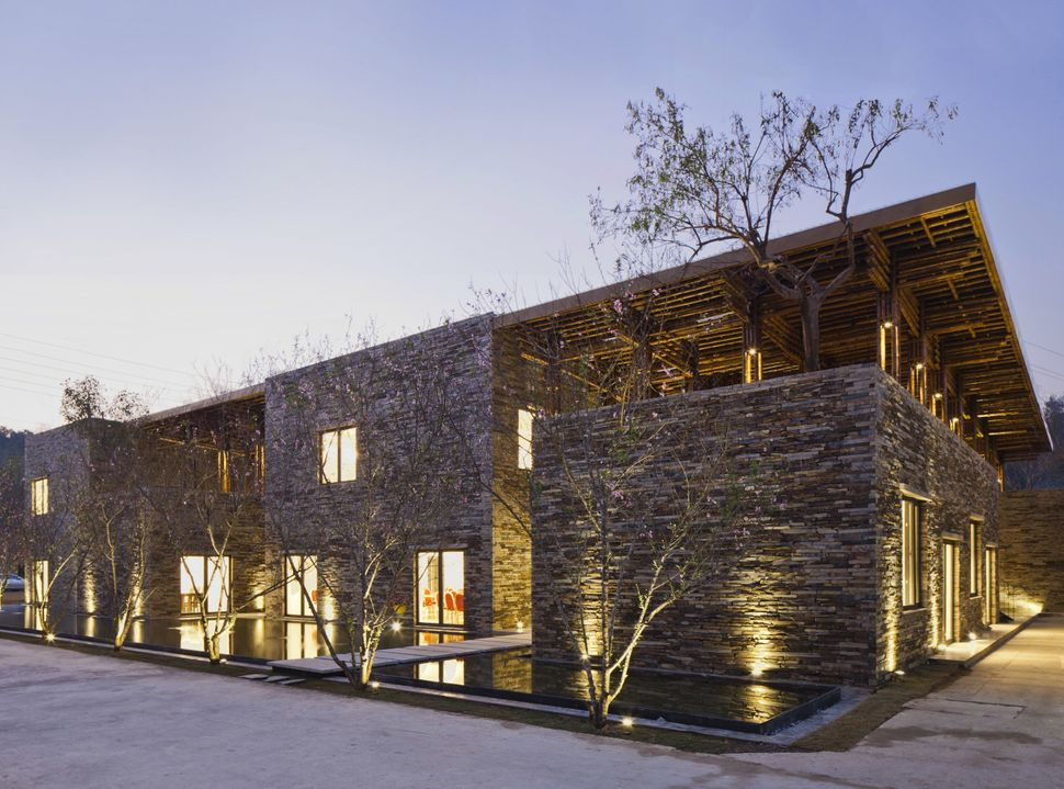 Son La Restaurant by Vo Trong Nghia. Vietnam is clearly leading the way in terms of affordable, environmentally friendly new