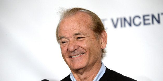 "Bill Murray attends the press conference for ""St. Vincent"" on day 4 of the Toronto International Film Festival at the Trump International Hotel on Sunday, Sept. 7, 2014, in Toronto. (Photo by Evan Agostini/Invision/AP)"