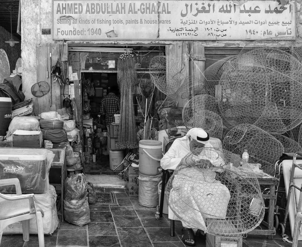 Mary Grace Montives	 Filipino	 Old Man on His Net	In the corner of the souk found one old man continue to fix the net for a p