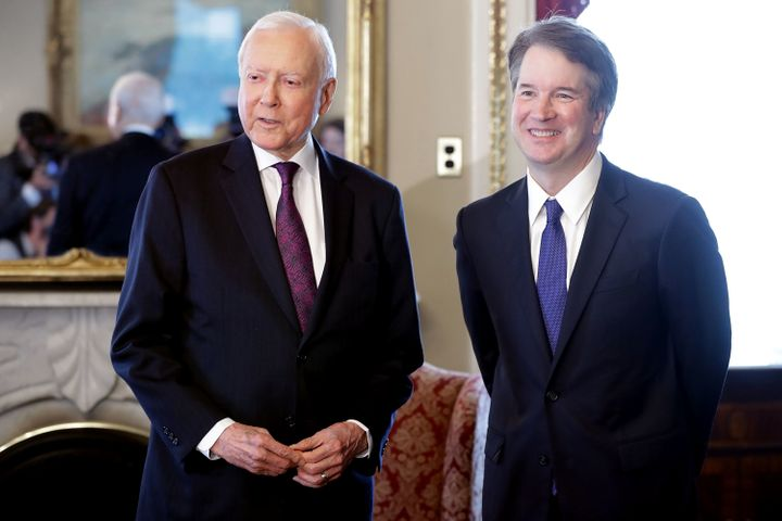 Sen. Orrin Hatch (R-Utah), a member of the Judiciary Committee, said the sexual assault allegations against Kavanaugh are pol