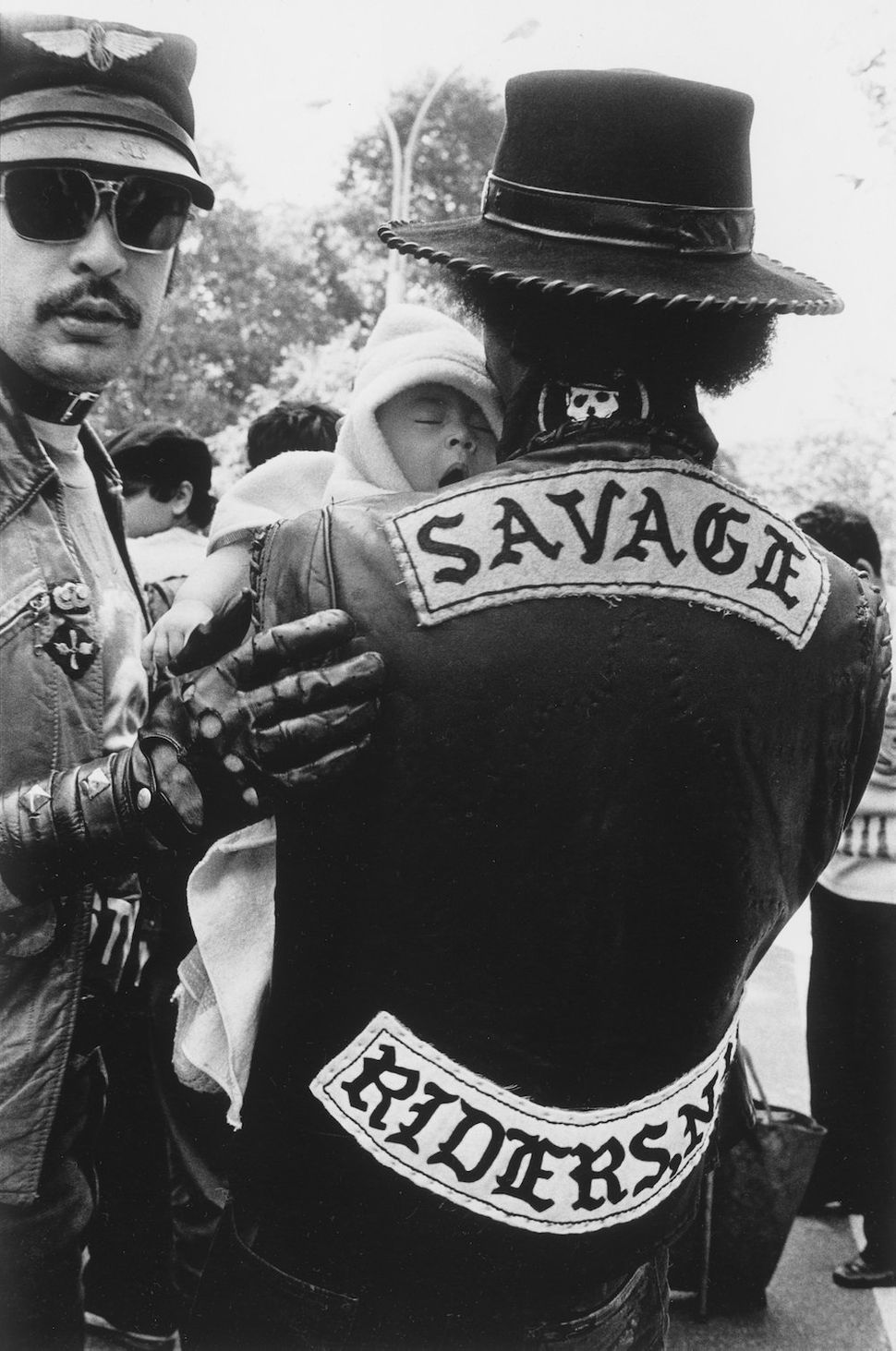 Savage-Riders at The Puertican Day Parade, 1980