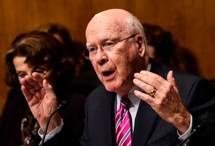 "Sen. Patrick Leahy (D-Vt.) has said Kavanaugh ""was not forthright"" with him about his access to Democratic strategy documents"