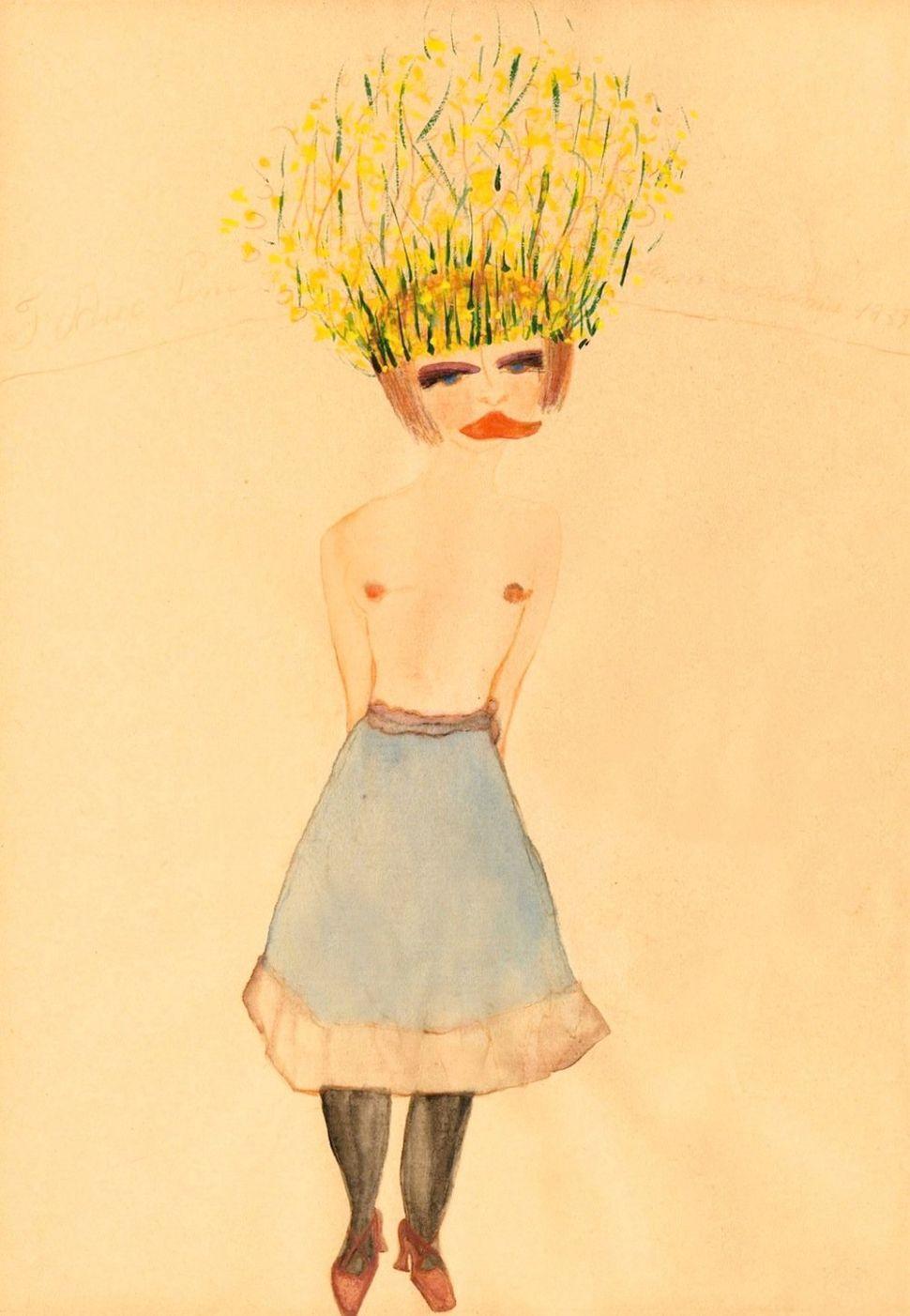 Appassionata 1939 Watercolour on paper Private Collection Photo: Pino Dell'Aquila, Torino