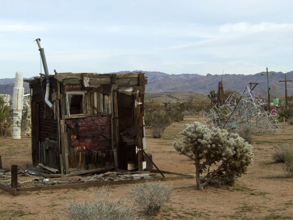 <strong>WHAT:</strong> The Noah Purifoy Outdoor Desert Art Museum spans 10 acres of assemblage art imagined by the late epony