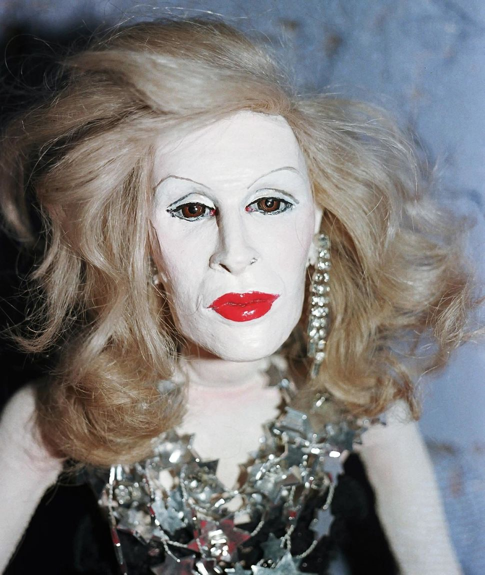 Candy Darling, 1985 (Photo by Greer Lankton)