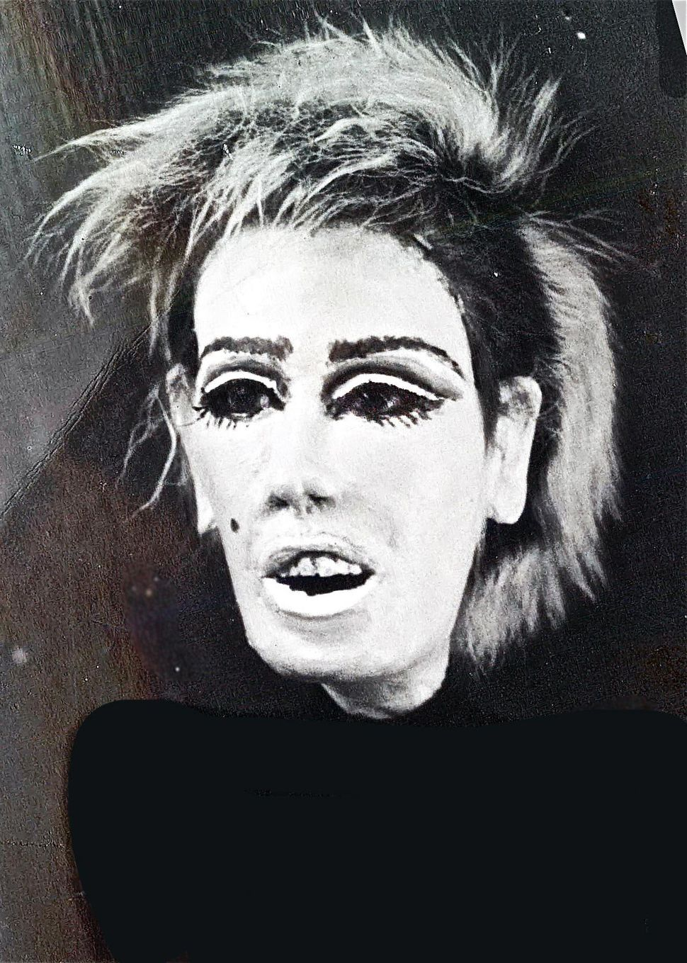 Edie Sedgwick, 1981 (photo by Greer Lankton)