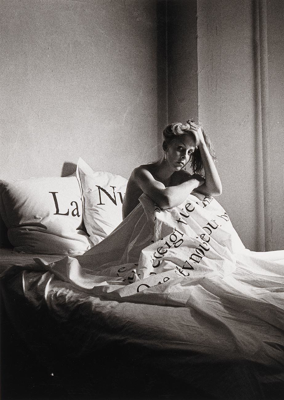 Peter Hujar, Greer Lankton in Bed, 1983