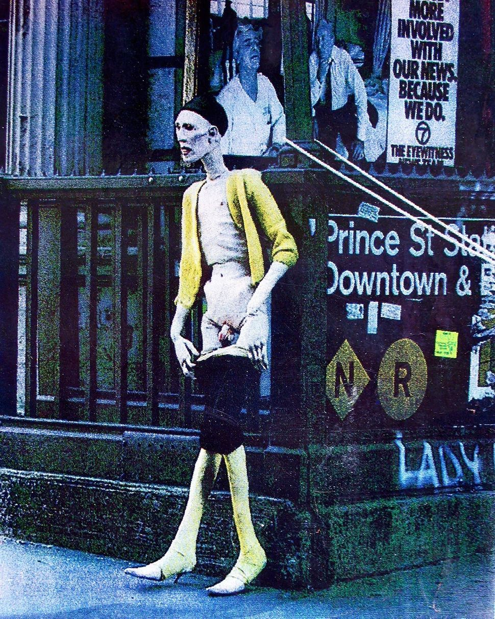 Sissy, Prince Street Station, circa 1983 (photo by Greer Lankton)