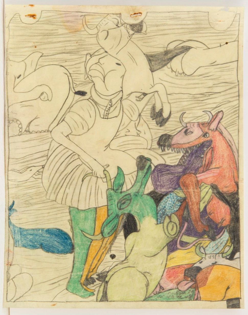 Susan Te Kahurangi King Untitled, c. 1965 Graphite and colored pencil on paper 10.25 x 8 inches (26 x 20.3 cm)