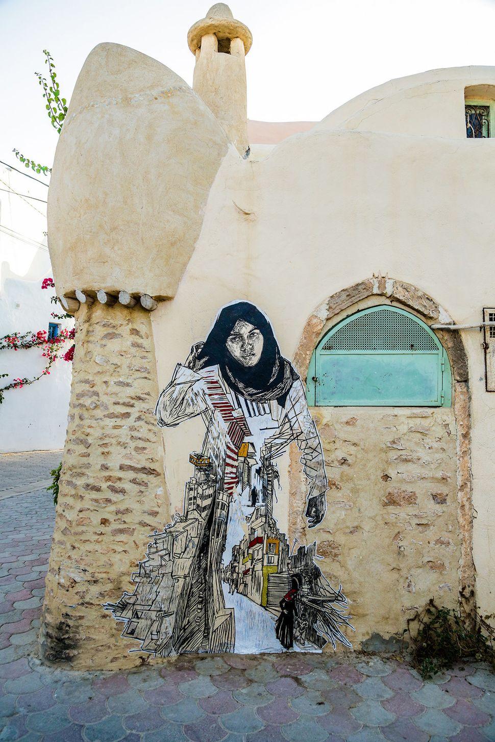 Swoon (Galerie Itinerrance / Aline Deschamps)