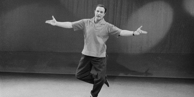 OMNIBUS  -- 'Dancing: A Man's Game' -- Aired 12/21/1958 -- Pictured: Actor/dancer Gene Kelly -- Photo by: NBCU Photo Bank