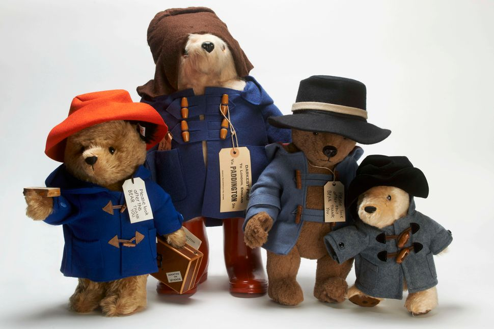 Paddington Bears from around the world.