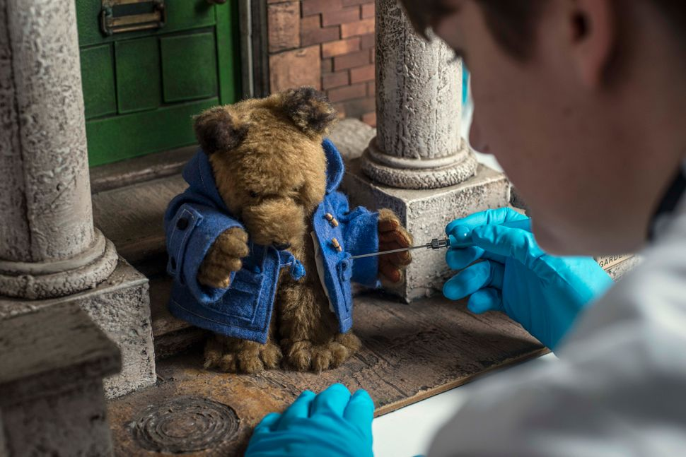 Museum of London conservator cleans original 1970s Paddington TV puppet.