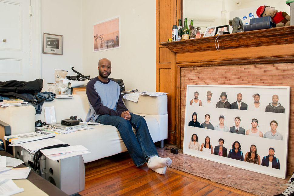 Debt Portrait #14, Harlem, NY 2013				Bayete Ross Smith