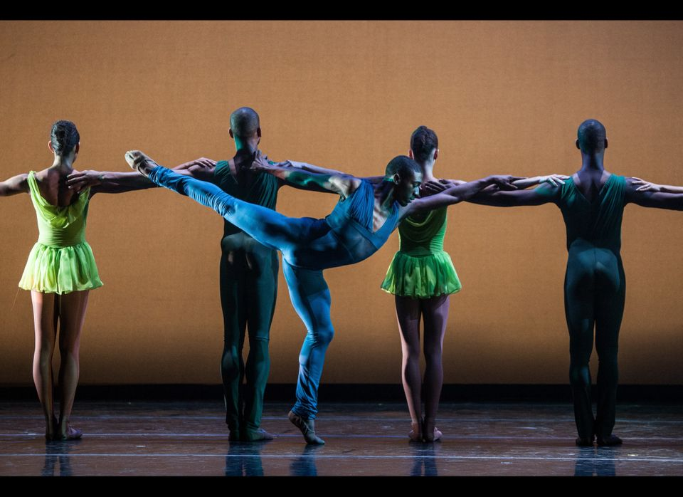 "Davon Doane in ""Gloria"" by Robert Garland.  Performed at the Auditorium Theater in Chicago,