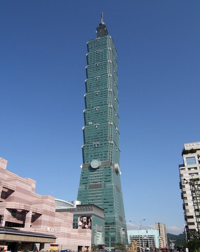 Taipei 101. Image © Michiel van Dijk