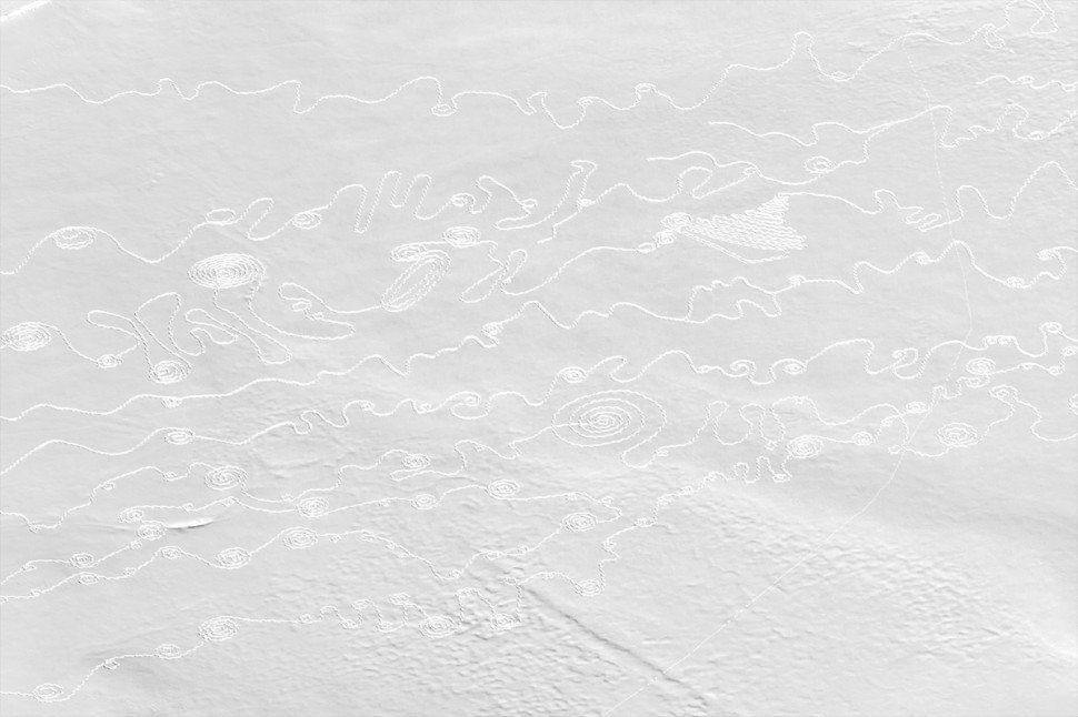 We Are The Water -- Snow Drawing project, Colorado, 2014