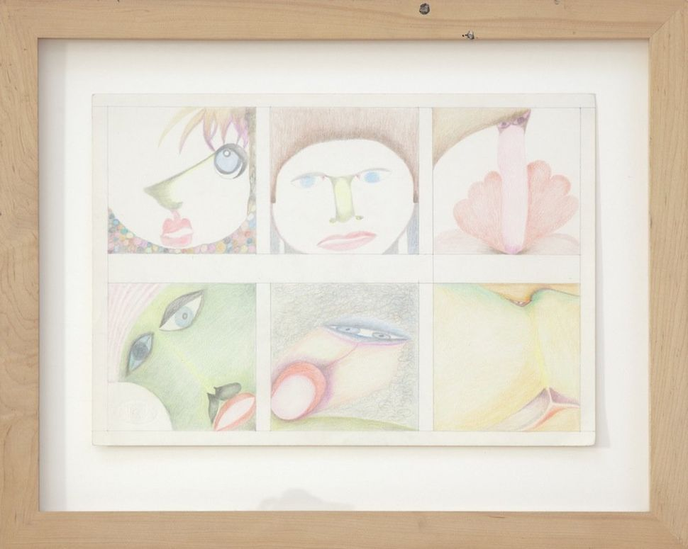 Drawing I, 1978 color pencil on paper 15 x 18.5 inches 38.1 x 47 cm