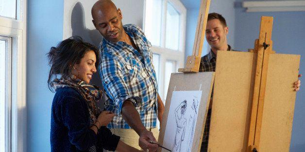 ask the art professor can a math teacher become an art teacher