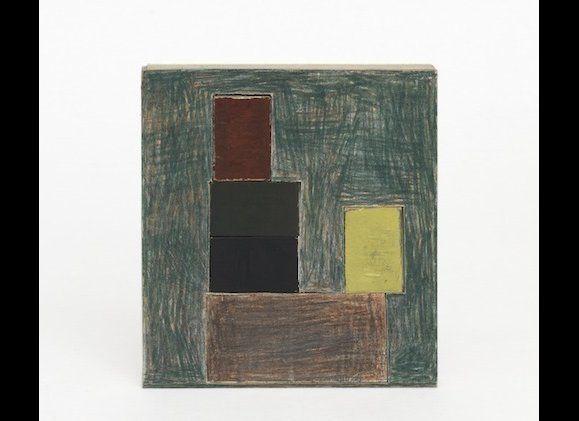 Graphite on cardboard 8 3/8 x 7 3/8 inches (21.2 x 18.8 cm) Courtesy David Zwirner, New York/London.