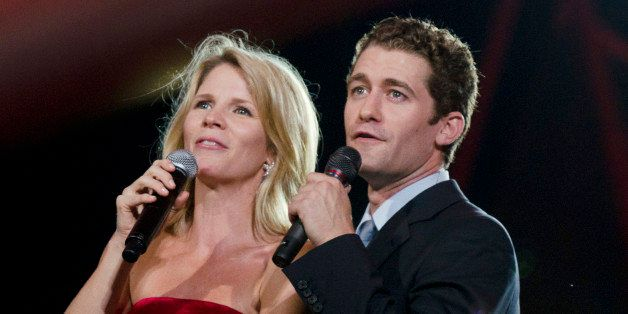 WASHINGTON, DC - JULY 03: Kelli O'Hara and Matthew Morrison performs during the annual PBS 'A Capitol Fourth' concert at the