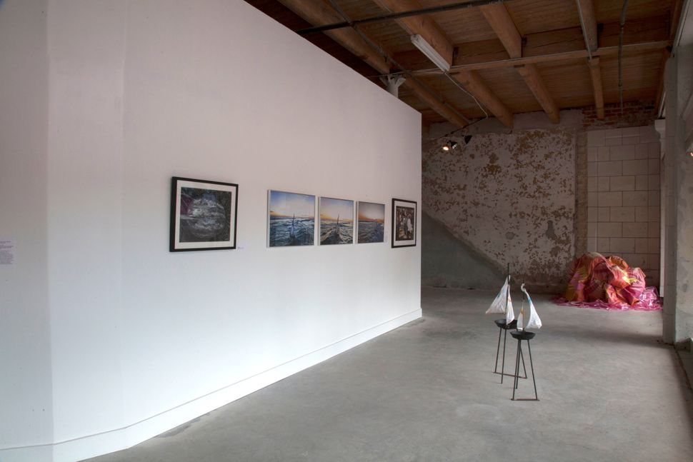 Installation shot, photo by Dale Gunnoe.