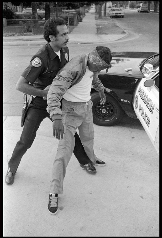 Officer Delgado with Raymond Ave Crip