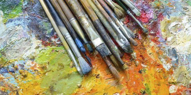 21 Hacks To Help You Organize Your Art Studio In 2015 Huffpost