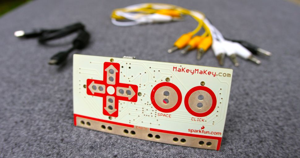 Jay Silver (American, born 1979) and Eric Rosenbaum (American, born 1979). MaKey MaKey. 2012-2014. Electronic components. 9 x