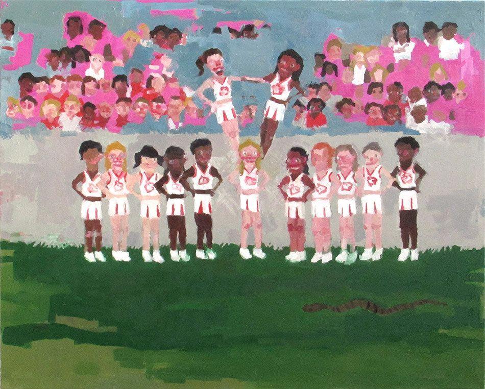 "Jennie Ottinger Team Photo 2015 Oil on canvas 24"" x 36"""