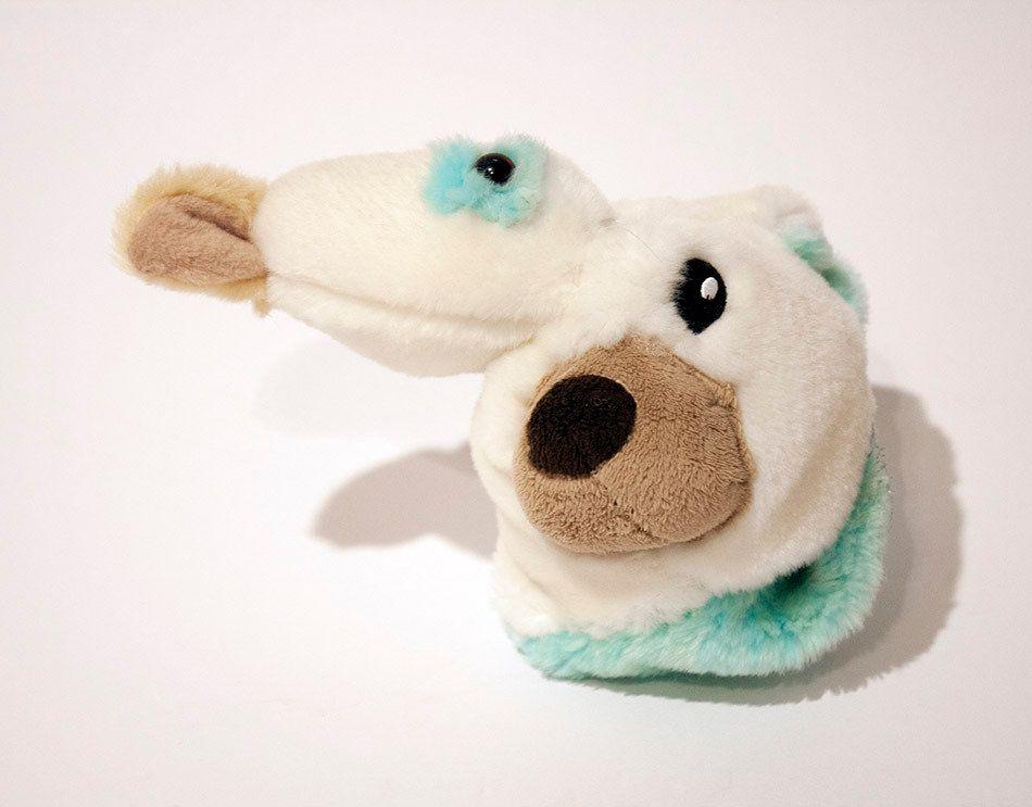 """Jennie Ottinger Thing 5 2015 Stuffed toy fur 7"""" x 5"""" x 7"""""""