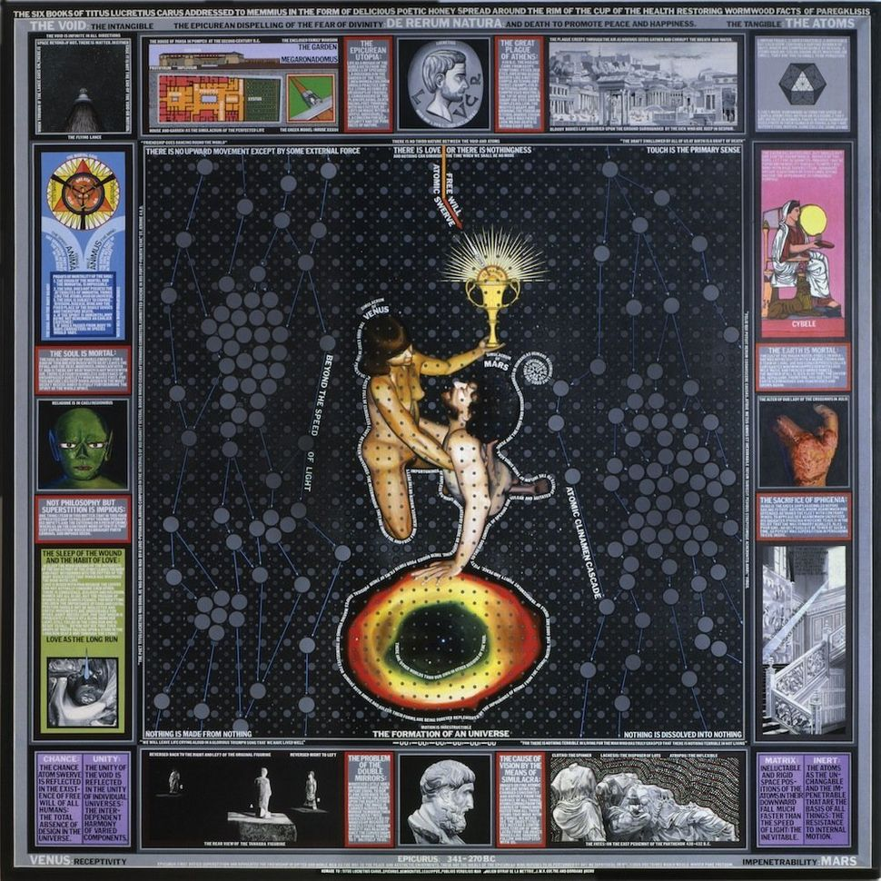 Paul Laffoley, De Rerum Natura, 1985. Courtesy Kent Fine Art