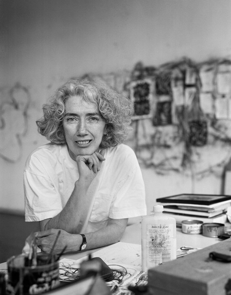 Photographed 29 April 1992. Painting, printmaking and drawing, U.S.A.