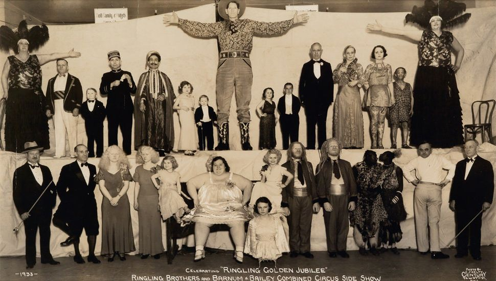 """Sale 2374 Lot 30: KELTY, EDWARD J. (1888-1967) """"Celebrating 'Ringling Golden Jubilee' Ringling Brothers and Barnum & Bailey C"""