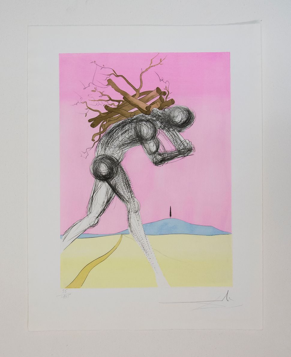 Issachar, Twelve Tribes of Israel, 1972, Dali at NAC, photo by Andrew Werner