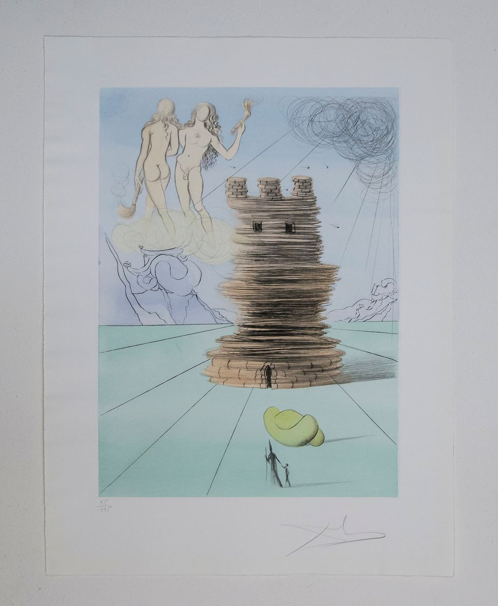 Simeon, Twelve Tribes of Israel, 1972, Dali at NAC, photo by Andrew Werner