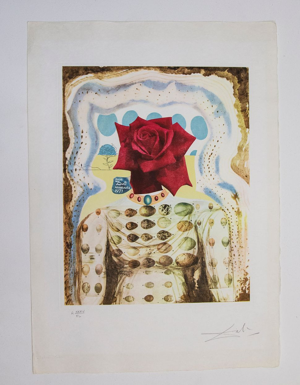 Surrealistic Flower Girl, 1971, Memories of Surrealism, Collection of Carole and Alex Rosenberg, Dali at NAC, Photo by Andrew