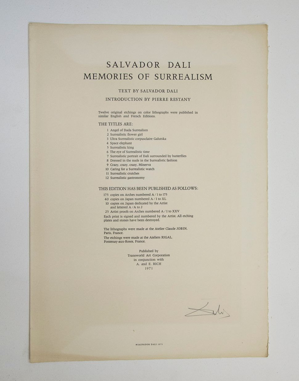 Never-Before-Seen Works By Surrealist Master Salvador Dali