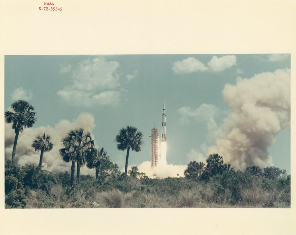 Liftoff, Apollo 16, April 1972