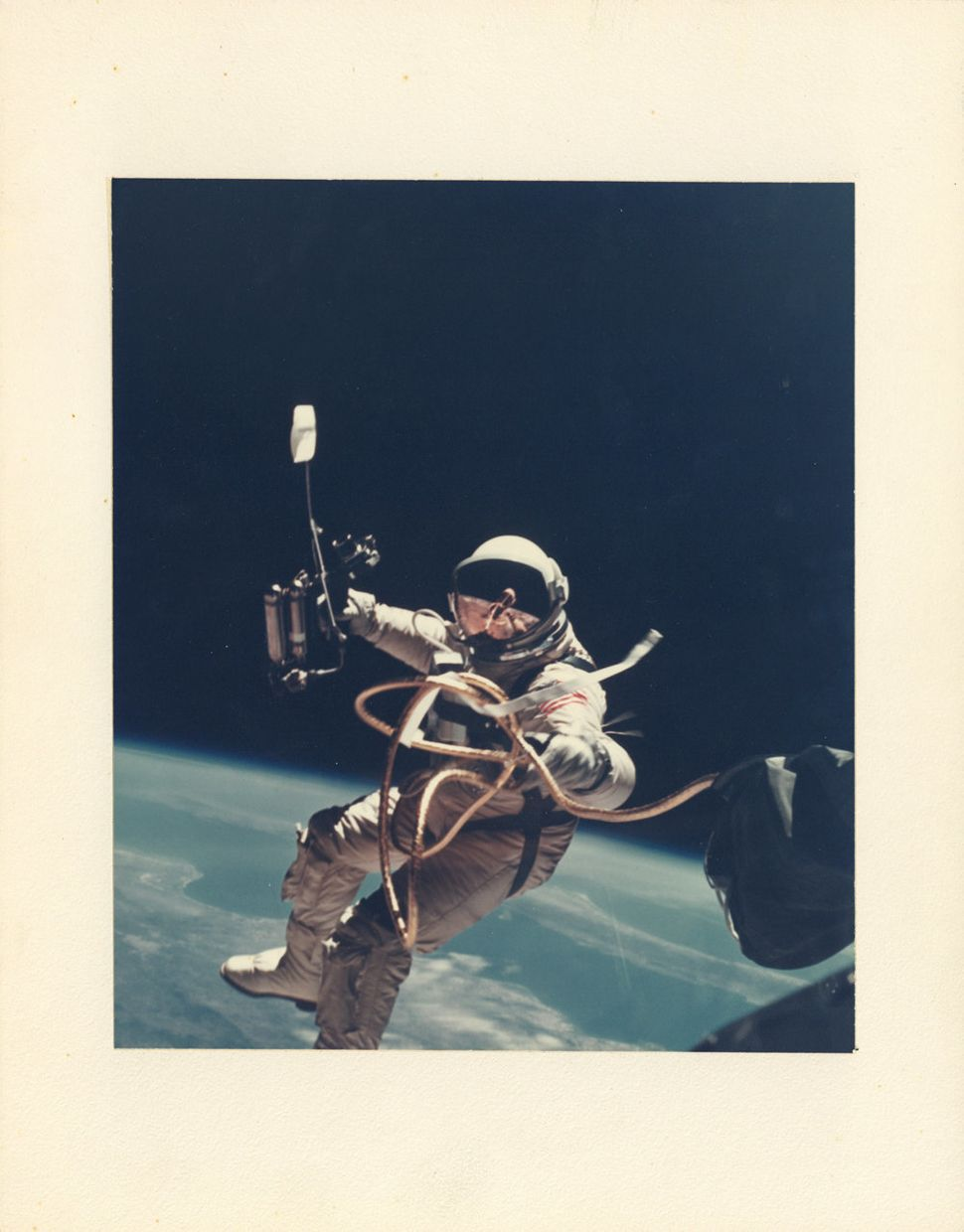 James McDivitt, First US Spacewalk, Ed White's EVA over New Mexico, Gemini 4, June 3, 1965