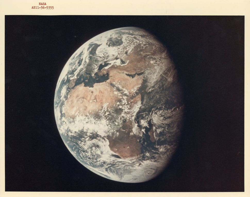 The Earth, July 11, 1969