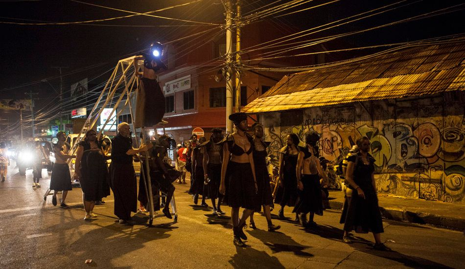 Marlon Griffith, POSITIONS + POWER, 2014, Port of Spain, Trinidad. © Marlon James, 2014.