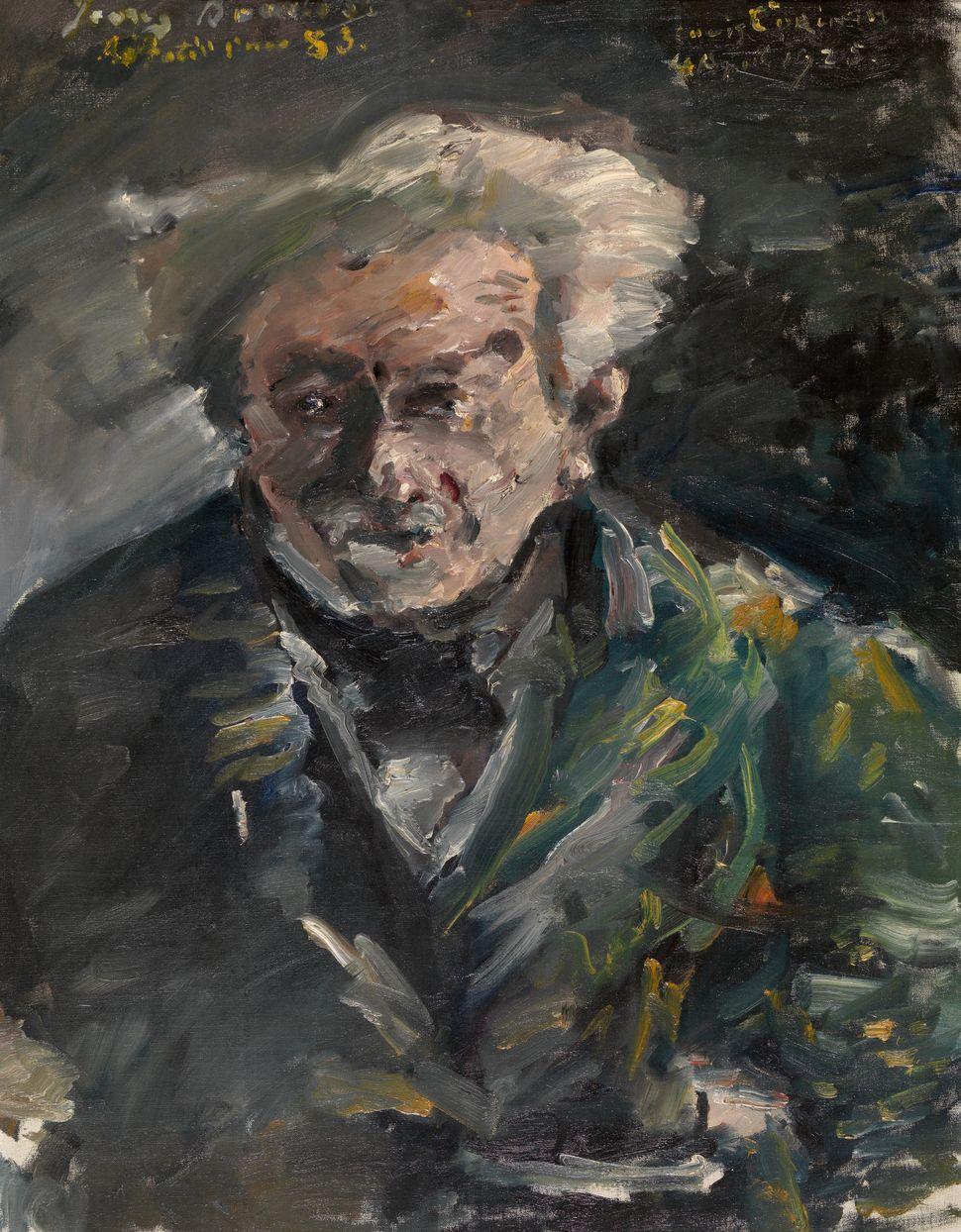 Bildnis Georg Brandes, huile sur toile, 1925, n°inv. 2452, dim. 91.5 cm x 111.0 cm x 6.5 cm, Musée Royal des Beaux-Arts d'Anv