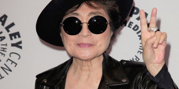 NEW YORK, NY - NOVEMBER 11:  Yoko Ono attends the Paley Center For Media Presents: An Evening With Yoko Ono at Paley Center F